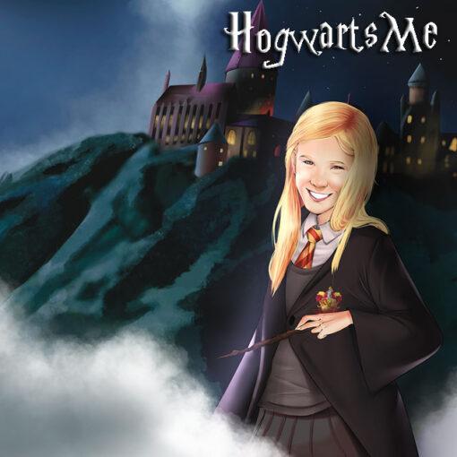 Caricatura Harry potterizada